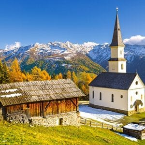 Castorland060153 Church Marterle Carinthia Austria 01 Legpuzzels