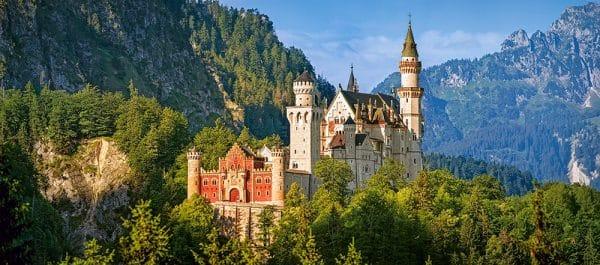Castorland View Of The Neuschwanstein Castle Germany Legpuzzels