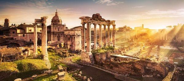 Castorland View Of The Forum Romanum Legpuzzels