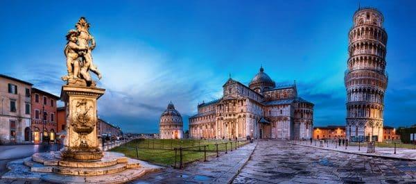 Castorland060276 Pisa And Piazza Dei Miracoli 01 Legpuzzels