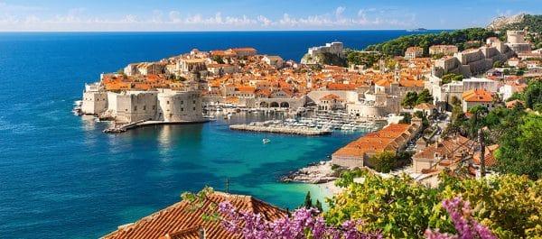Castorland060283 Dubrovnik Croatia 01 Legpuzzels