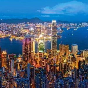 Castorland060290 Hong Kong Twilight 01 Legpuzzels