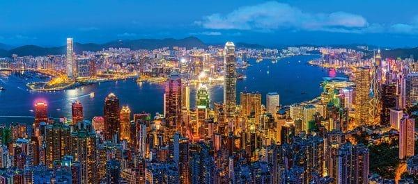 Castorland Hong Kong Twilight Legpuzzels