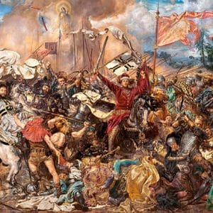 Castorland060382 The Battle Of Grunwald Jan Matejko 01 Legpuzzels