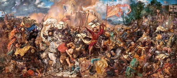 Castorland060382 The Battle Of Grunwald Jan Matejko 01 Legpuzzels