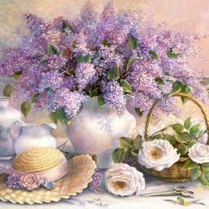 Castorland Flower Day Trisha Hardwick Legpuzzels