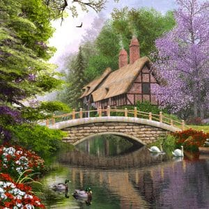 Castorland102365 2 River Cottage (limited Distribution!) 01 Legpuzzels