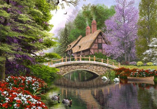 Castorland102365 2 River Cottage (limited Distribution!) 01 Legpuzzels
