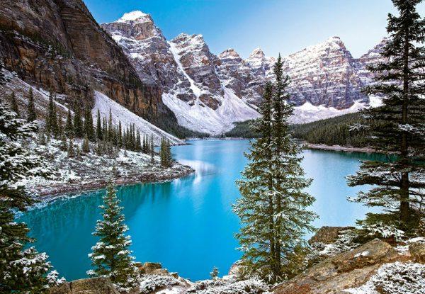 Castorland102372 2 The Jewel Of The Rockies Canada 01 Legpuzzels