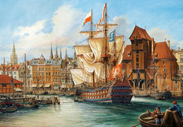 Castorland The Old Gdansk Legpuzzels