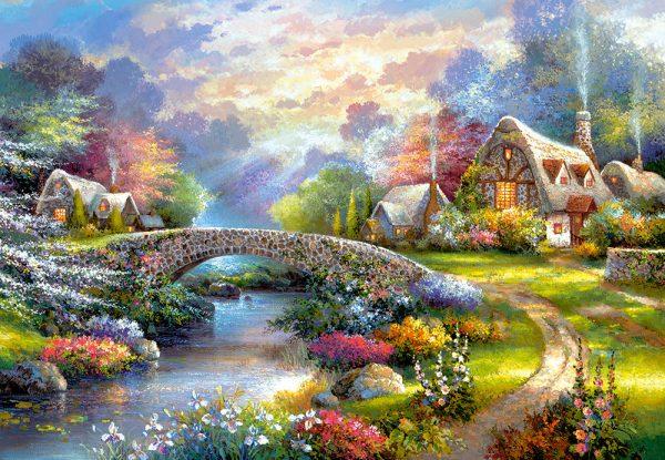 Castorland103171 2 Springtime Glory 01 Legpuzzels