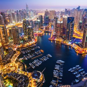 Castorland103256 2 Dubai At Night 01 Legpuzzels
