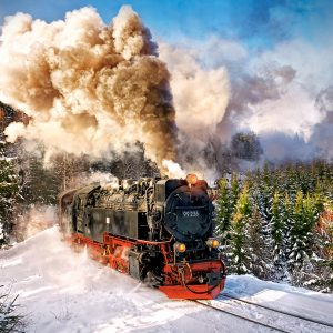 Castorland Steam Train Legpuzzels
