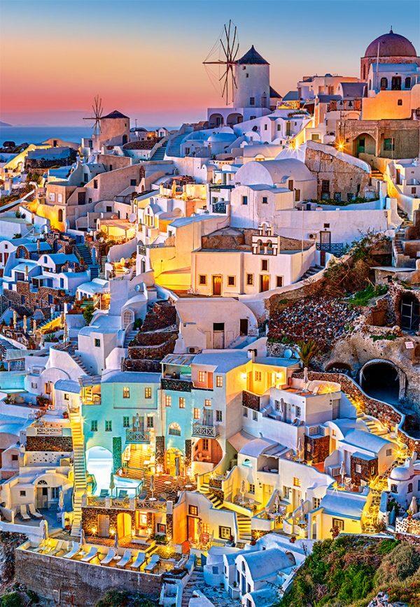 Castorland Santorini Lights Legpuzzels