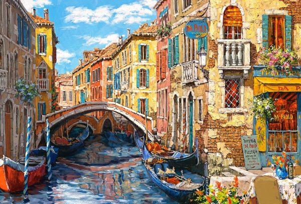 Castorland103683 2 Reflections Of Venice 01 Legpuzzels
