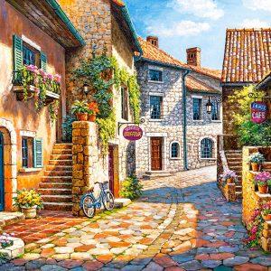Castorland Rue De Village Legpuzzels
