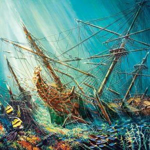 Castorland103805 Ocean Treasure 01 Legpuzzels