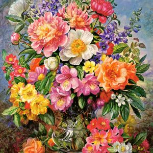 Castorland103904 2 June Flowers In Radiance 01 Legpuzzels