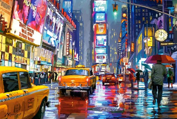 Castorland103911 2 Times Square 01 Legpuzzels