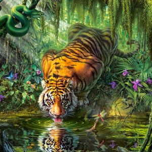 Castorland103935 2 Tiger In The Jungle 01 Legpuzzels