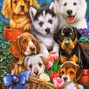 Castorland Puppies Legpuzzels