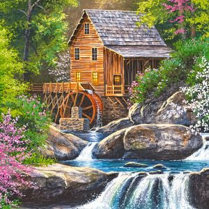 Castorland104055 2 Spring Mill 01 Legpuzzels