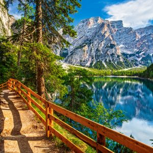 Castorland Braies Lake Italy Legpuzzels