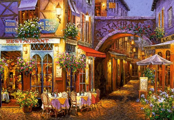 Castorland Evening In Provence Legpuzzels