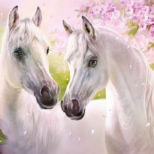 Castorland Romantic Horses Paarden Legpuzzels