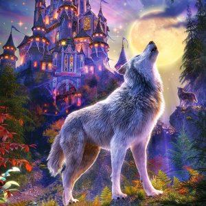 Castorland104178 2 Wolf Castle 01 Legpuzzels