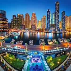 Castorland104222 2 Dubai Marina 01 Legpuzzels
