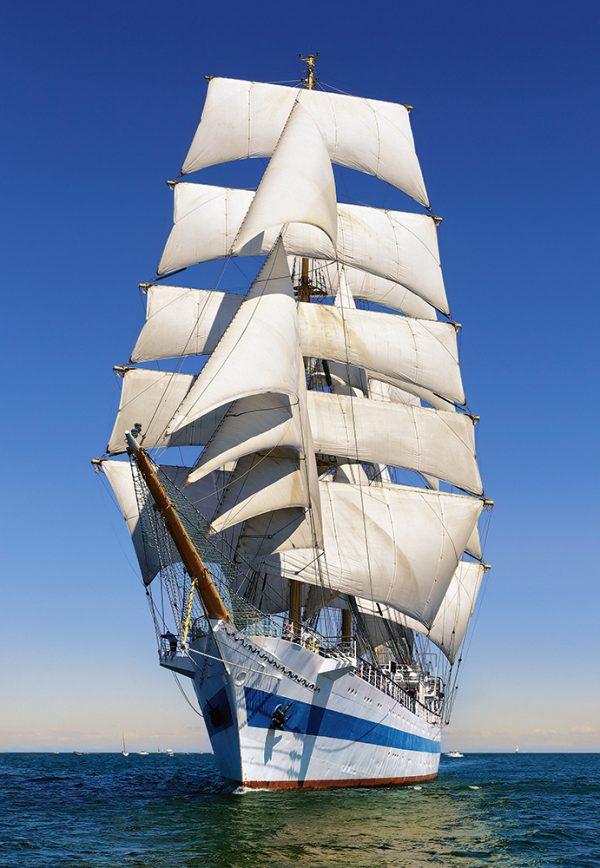Castorland104239 2 Under Full Sail 01 Legpuzzels