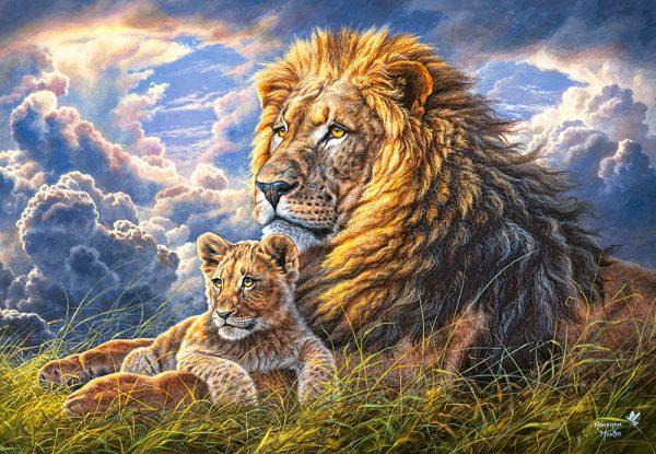 Castorland104277 2 Like Father Like Son 01 Legpuzzels