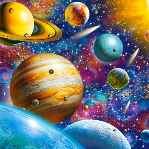 Castorland104314 2 Solar System Odyssey 01 Legpuzzels
