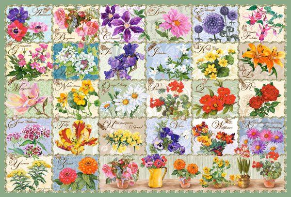 Castorland104338 2 Vintage Floral 01 Legpuzzels