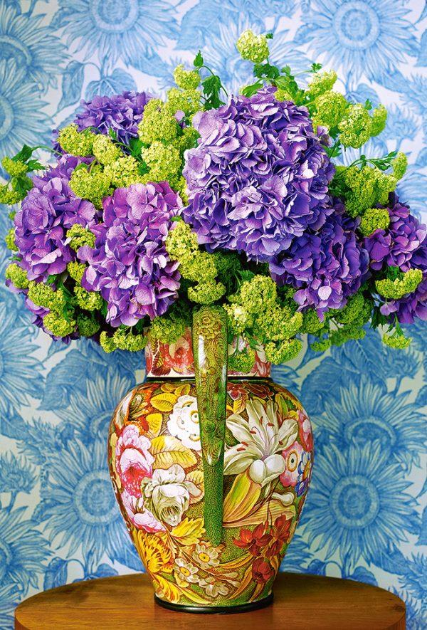 Castorland104352 2 Bouquet Of Hydrangeas 01 Legpuzzels