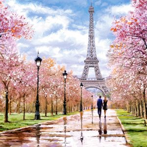 Castorland104369 2 Romantic Walk In Paris 01 Legpuzzels