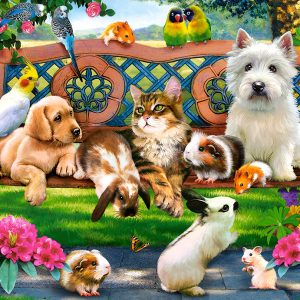Castorland104406 2 Pets In The Park 01 Legpuzzels