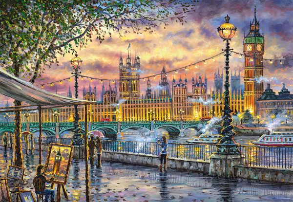 Castorland104437 2 Inspirations Of London 01 Legpuzzels