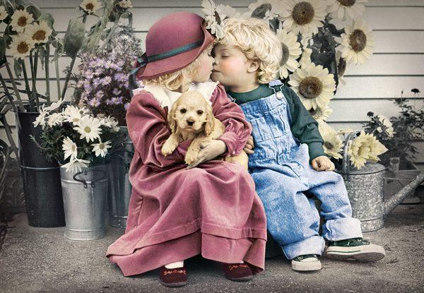 Castorland104451 2 First Love 01 Legpuzzels