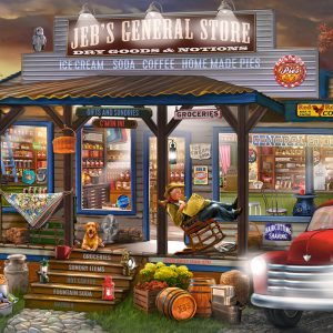 Castorland104505 2 Jeb S General Store 01 Legpuzzels