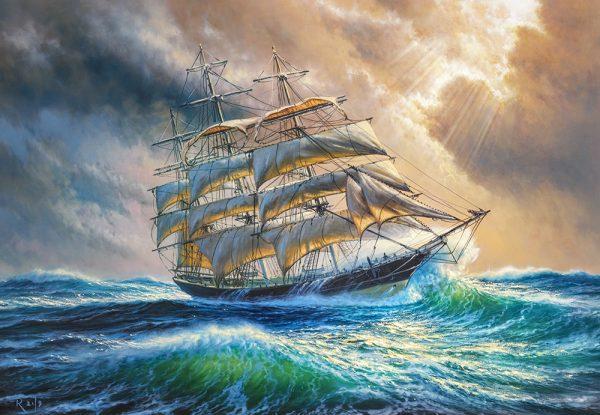 Castorland104529 2 Sailing Against All Odds 01 Legpuzzels