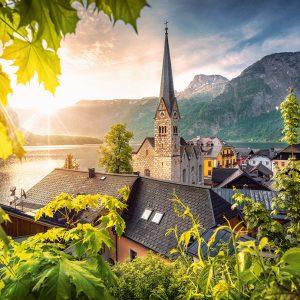 Castorland104543 2 Postcard From Hallstatt 01 Legpuzzels