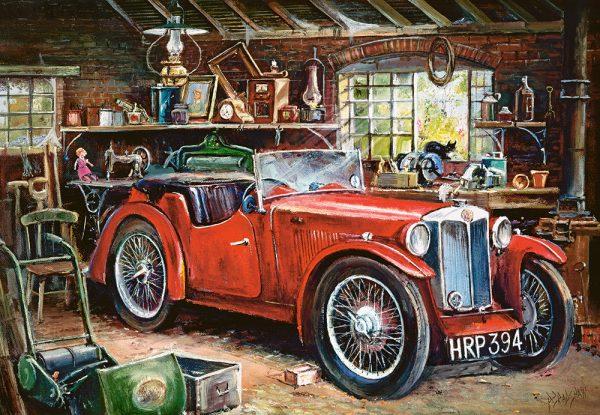 Castorland104574 2 Vintage Garage 01 Legpuzzels