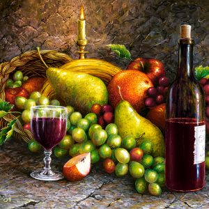 Castorland104604 2 Fruit And Wine 01 Legpuzzels