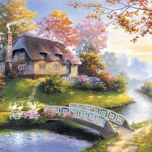 Castorland150359 2 Cottage 01 Legpuzzels
