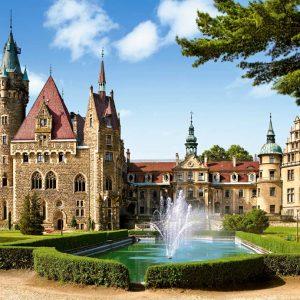 Castorland150670 2 Moszna Castle Poland 01 Legpuzzels