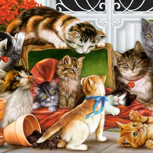 Castorland151639 2 Kittens Play Time 01 Legpuzzels