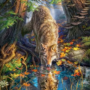 Castorland151707 2 Wolf In The Wild 01 Legpuzzels