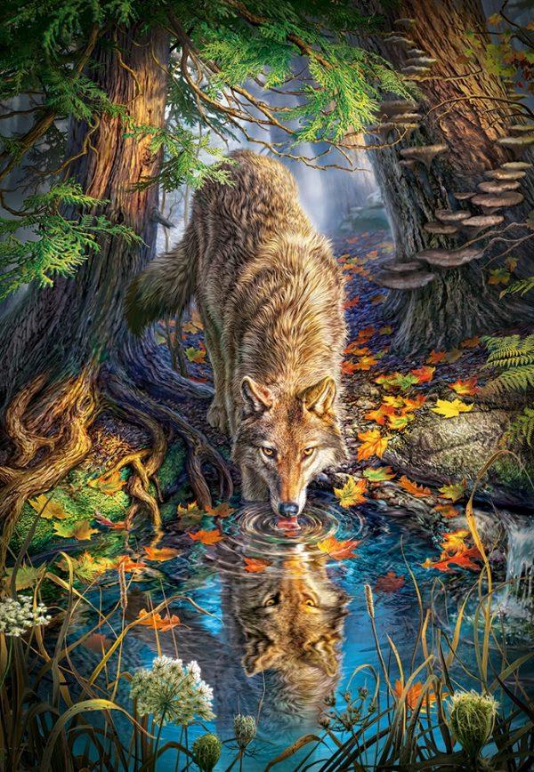 Castorland151707 2 Wolf In The Wild 01 Legpuzzels
